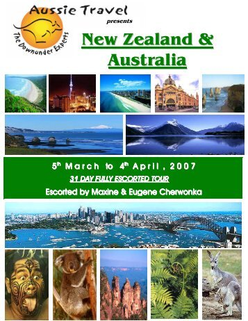 New Zealand & Australia - Aussie Travel