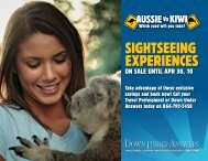 SIGHTSEEING EXPERIENCES - DUA Travel