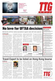 No love for UFTAA decision - TTG Asia