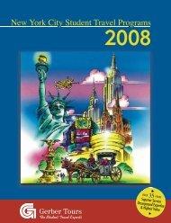 New York City Student Travel Programs - Gerber Tours