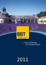 ...neuer Schwung bei Gruppenreisen - BBT