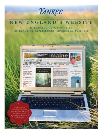 new england's website - Yankee Magazine