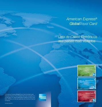 Lista de Caixas Eletrônicos - American Express