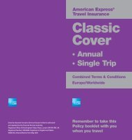 Classic Cover - American Express