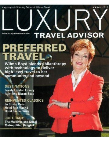 Luxury Travel Advisors - Auberge Resorts