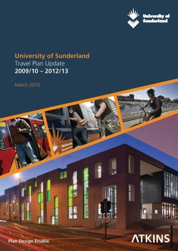 University of Sunderland - Travel Plan Final 200510-1