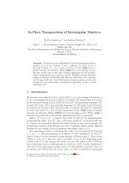 In-Place Transposition of Rectangular Matrices