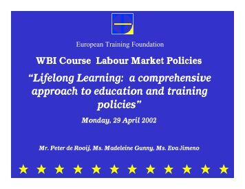 WB LM course-ETF session final without notes - World Bank