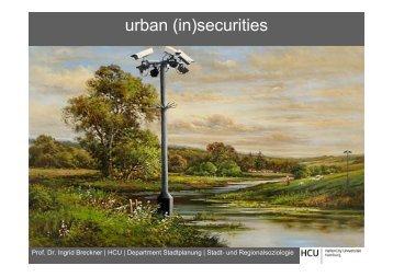 urban (in)securities - SRL