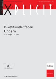Investitionsleitfaden Ungarn - Enterprise Europe Network Bayern