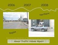 Annual Traffic Volume Report 2006 - 2008 - Alaska Department of ...