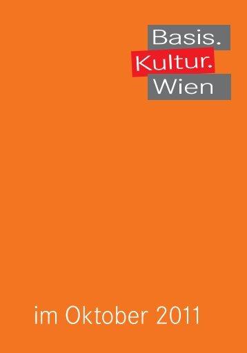 Oktober - Basis.Kultur.Wien