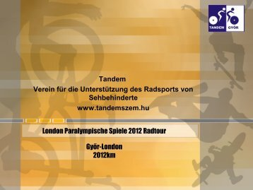Tandemvereins - ISPAS eV