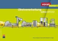 PA 500-Gas - voran Maschinen GmbH