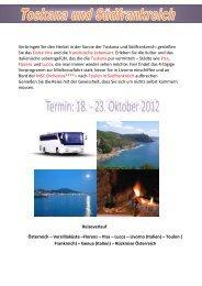 VERBINDLICHE REISEANMELDUNG - Reisegesellschaft.at