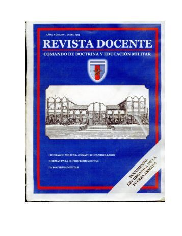 introduccion - Comando de Doctrina y Educación Militar