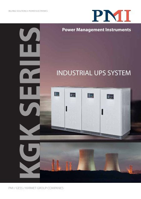 INDUSTRIAL UPS SYSTEM - PMI – Power Management Instruments
