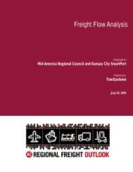 Freight Flow Analysis - Mid-America Regional Council