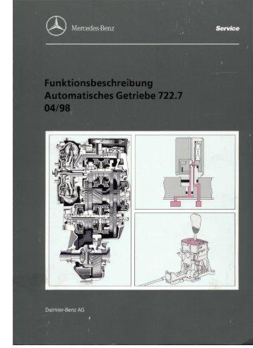 Automatisches Getriebe 722.7 Teil 1