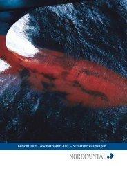 Bericht zum Geschäftsjahr 2001 – Schiffsbeteiligungen - Nordcapital