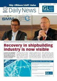 SMM Daily News 7. September 2010 - Schiff & Hafen