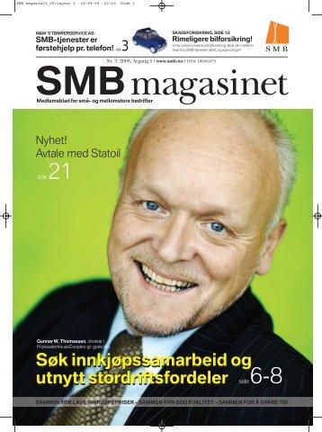Søk innkjøpssamarbeid og utnytt stordriftsfordeler ... - SMB-tjenester