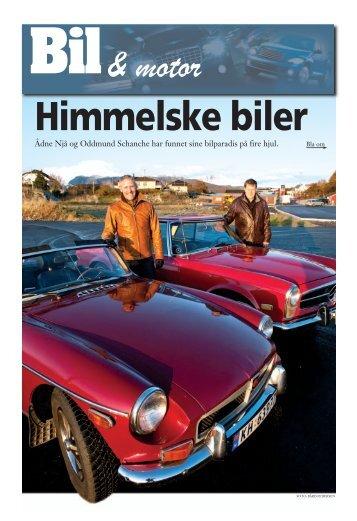 Ådne Njå og Oddmund Schanche har funnet sine bilparadis på fire ...