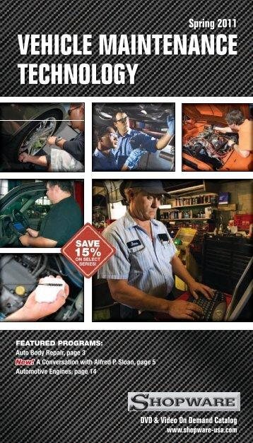 VEHICLE MAINTENANCE TECHNOLOGY - Shopware