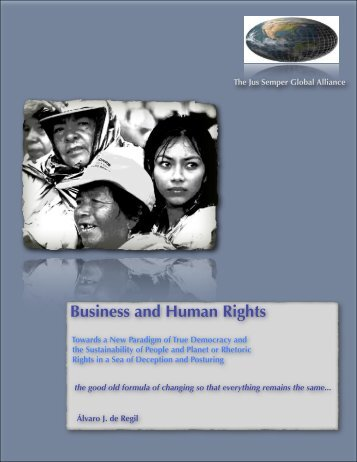 Business and Human Rights - The Jus Semper Global Alliance