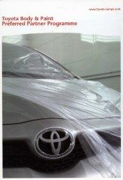 Toyota Preferred Programme - Usi Italia S.r.l.