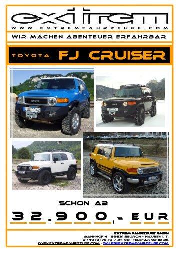 Toyota FJ Cruiser _Stand-Januar.2010 - die sportwagen bei extrem