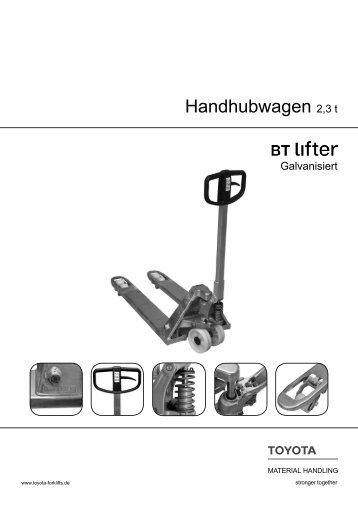 Handhubwagen Lifter Galvanisiert LHM230G - Forklift