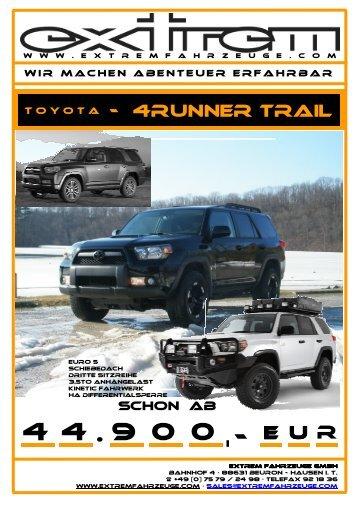 Toyota 4Runner _Stand-Feb 2011 - Extrem Fahrzeuge GmbH