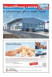 In Schwenningen gibt es wieder Toyota - Haller Industriebau GmbH