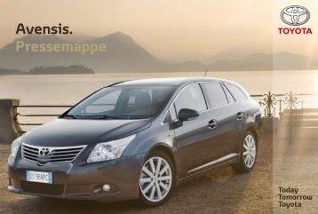 Avensis. Pressemappe - Automobilsport.com