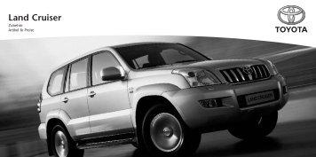 Land Cruiser - Toyota Schreib