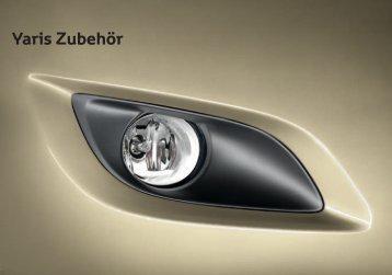 Yaris Zubehör - Toyota Schreib