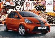 Preisliste Aygo - Toyota Schweiz
