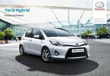 Preisliste Yaris Hybrid (1.6 MB) - Toyota Schweiz