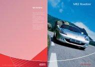 MR2 Roadster - Toyota