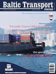 BTJ 3/2007 - Baltic Transport Journal