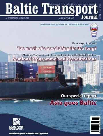 BTJ 3/2007 - Baltic Transport Journal