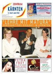 Ausgabe 05.2007 (PDF-Format, ca. 2,4 MB - Zentrum Kärnten in ...