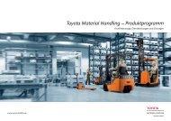 Toyota Material Handling – Produktprogramm