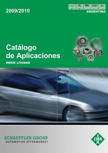 Catálogo de Aplicaciones Serie Liviana - Rodamientos Brasil