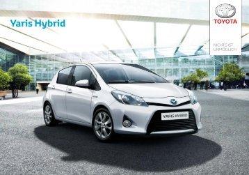 Prospekt Yaris Hybrid - Toyota