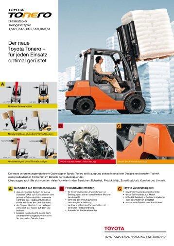 3f[jlmjfscbs - zu Toyota Material Handling Schweiz AG