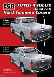 Toyota Hilux Hard Tonneau retail flyer.pdf - EGR Auto