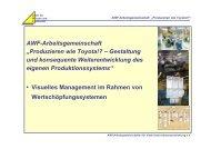 """AWF-Arbeitsgemeinschaft """"Produzieren wie Toyota!? – Gestaltung ..."""