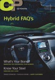 Hybrid FAQ's - Toyota Dealers